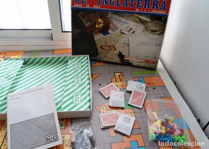 ASALTO AL BANCO DE INGLATERRA - NIKE & COOPER NAC 1982 - JUEGO DE MESA COPLETO EN MUY BUEN ESTADO (Juguetes - Juegos - Juegos de Mesa)