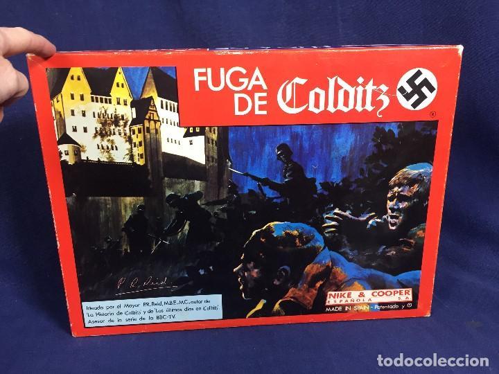 JUEGO DE MESA FUGA DE COLDITZ NIKE &COOPER ESPAÑOLA S.A. COMPLETO 4X27X37CMS (Juguetes - Juegos - Juegos de Mesa)