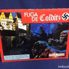 Juegos de mesa: JUEGO DE MESA FUGA DE COLDITZ NIKE &COOPER ESPAÑOLA S.A. COMPLETO 4X27X37CMS. Lote 152572878