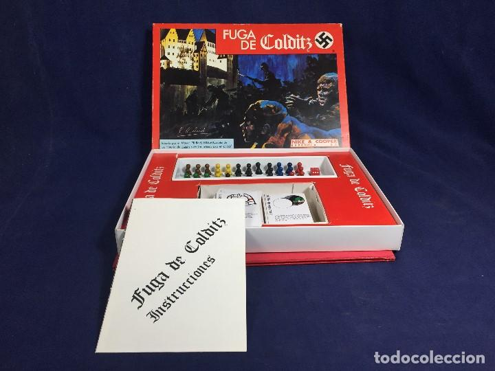 Juegos de mesa: JUEGO DE MESA FUGA DE COLDITZ NIKE &COOPER ESPAÑOLA S.A. COMPLETO 4X27X37CMS - Foto 12 - 152572878