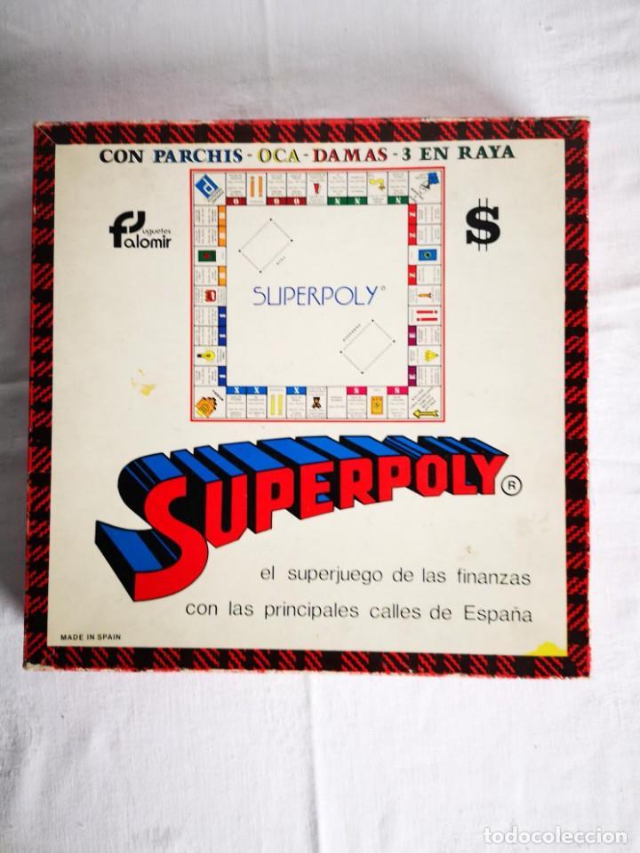 SUPERPOLY - JUEGO DE MESA Y TABLERO (Juguetes - Juegos - Juegos de Mesa)