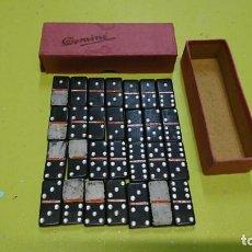 Juegos de mesa: ANTIGUO MÍNI DOMINO. Lote 153040786