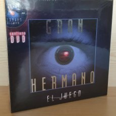 Juegos de mesa: JUEGO DE MESA GRAN HERMANO (TELE CINCO, TELE 5) CON DVD - DESCATALOGADO, PRECINTADO, IMPECABLE. Lote 153136718
