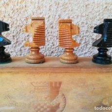 Juegos de mesa: CONJUNTO PIEZAS SUELTAS DE AJEDREZ PARA REPOSICIÓN. Lote 175487450