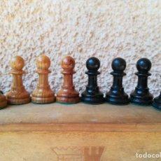 Juegos de mesa: CONJUNTO PIEZAS SUELTAS DE AJEDREZ PARA REPOSICIÓN. Lote 153352942