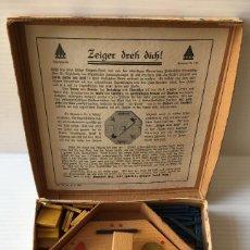 Juegos de mesa: ANTIGUO JUEGO DE MESA ZEIGER DREH DICH! 1938. ALEMANIA.. Lote 153537802