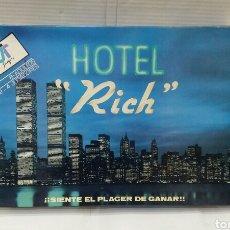 Juegos de mesa: HOTEL RICH. NUEVO EN CAJA. SIN ESTRENAR. JUEGOS JT. REF 200. JUGUETES DE VALENCIA. COMPLETO.. Lote 153588597