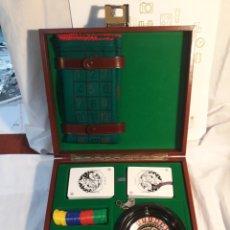 Juegos de mesa: JUEGO RULETA CON ESTUCHE.COMPLETO.. Lote 153919826