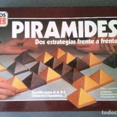 Juegos de mesa: JUEGO PIRAMIDES GEYPER. Lote 154138266