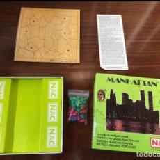 Juegos de mesa: JUEGO NAC: MANHATTAN. Lote 154204902