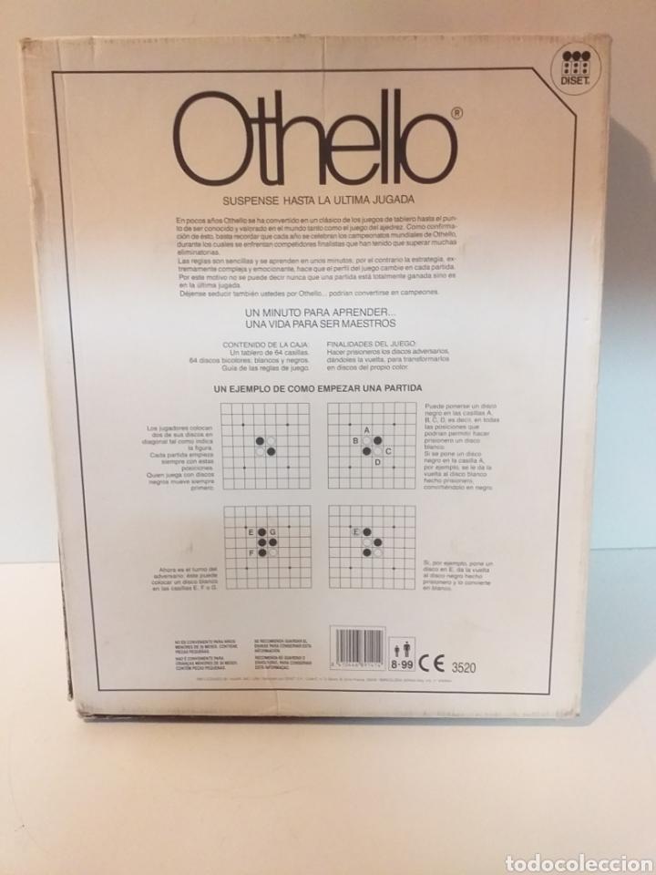 Juegos de mesa: Juego de mesa vintage Othello. De la casa Diset. Completo - Foto 3 - 154509941