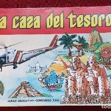 Juegos de mesa: JUEGO A LA CAZA DEL TESORO, DALMAU CARLES PLA, AÑOS 80. Lote 154826602
