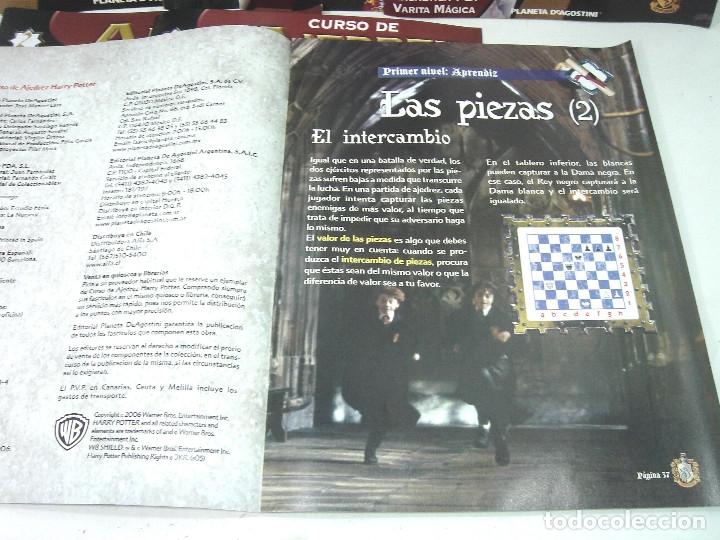 Juegos de mesa: MANUAL CURSO AJEDREZ HARRY POTTER - PLANETA DE AGOSTINI - 61 FASCICULOS HASTA 58 SUMARIO - Foto 3 - 154860094
