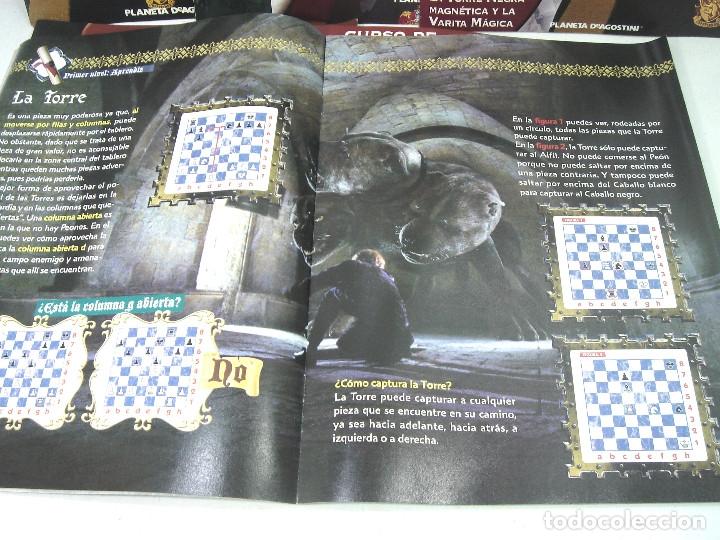 Juegos de mesa: MANUAL CURSO AJEDREZ HARRY POTTER - PLANETA DE AGOSTINI - 61 FASCICULOS HASTA 58 SUMARIO - Foto 4 - 154860094