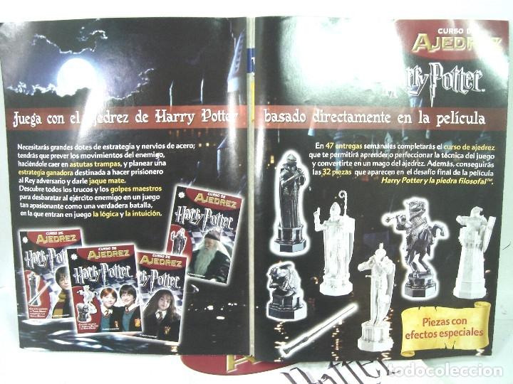 Juegos de mesa: MANUAL CURSO AJEDREZ HARRY POTTER - PLANETA DE AGOSTINI - 61 FASCICULOS HASTA 58 SUMARIO - Foto 6 - 154860094