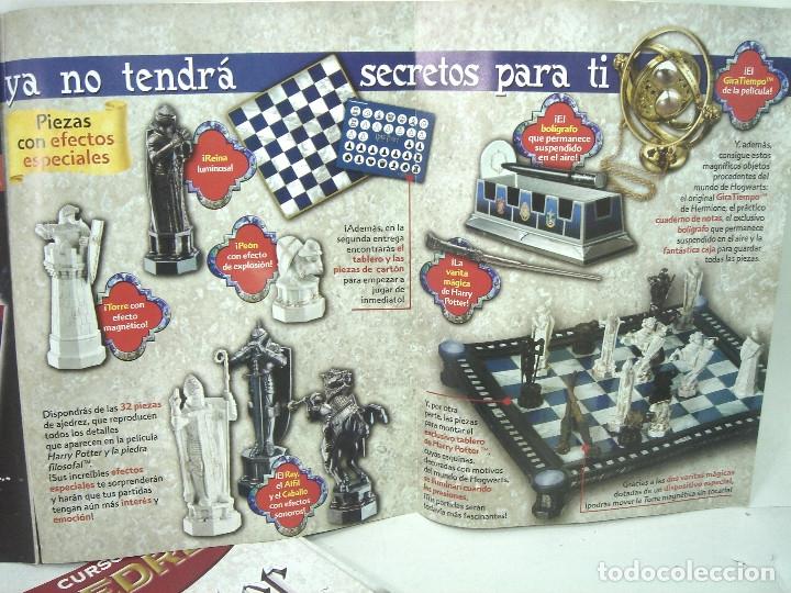 Juegos de mesa: MANUAL CURSO AJEDREZ HARRY POTTER - PLANETA DE AGOSTINI - 61 FASCICULOS HASTA 58 SUMARIO - Foto 7 - 154860094
