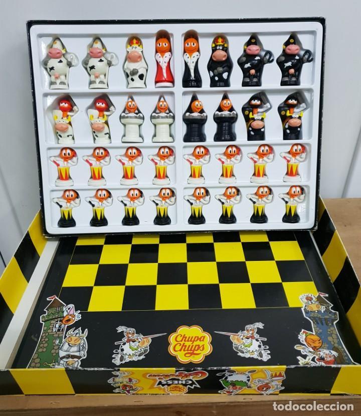 AJEDREZ DE CHUPA CHUPS (Juguetes - Juegos - Juegos de Mesa)