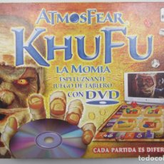 Juegos de mesa: LA MOMIA ATMOSFEAR KHUFU - BORRAS - - ESPAÑOL. Lote 155458366