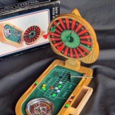 Juegos de mesa: MINI RULETA CON JUEGO DE DARDOS. MINI DELUXE ROULETTE WITH DART GAME. Lote 155525378