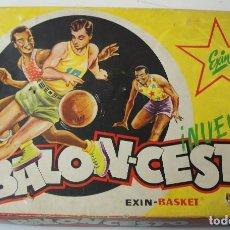 Juegos de mesa: JUEGO BALONCESTO DE EXIN . EXIN BASKET .. Lote 155604006