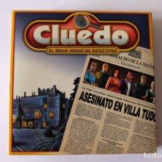 Juegos de mesa: CLUEDO - EL GRAN JUEGO DE DETECTIVES 2002 - HASBRO - ORBIS FABBRI. Lote 155698546
