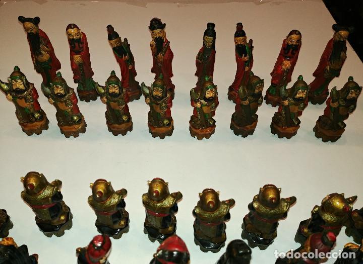 Juegos de mesa: AJEDREZ FIGURAS CHINAS - Foto 2 - 155758150