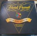 Juegos de mesa: TRIVIAL PURSUIT - EDICION GENUS - ARM01. Lote 155868886