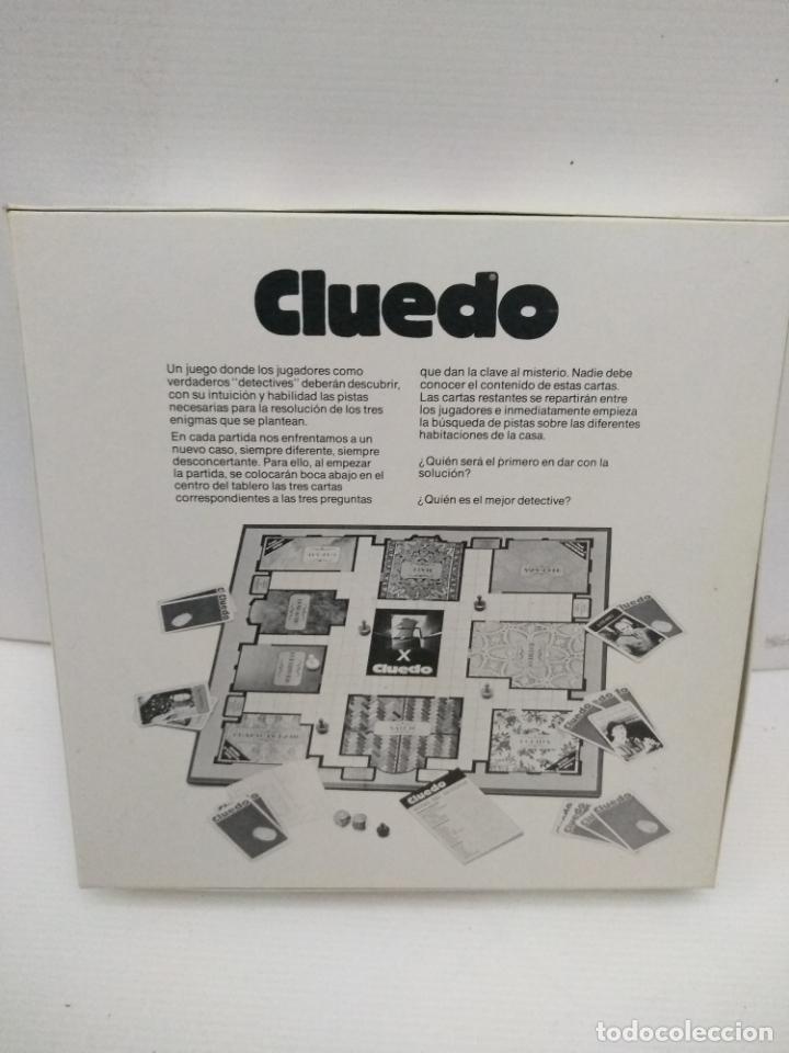 Juegos de mesa: Cluedo de Parker sin uso - Foto 2 - 155990726