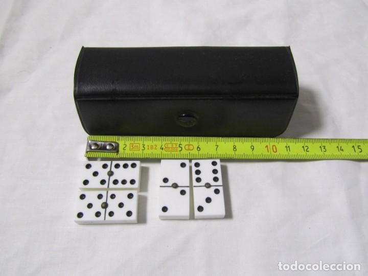 Juegos de mesa: Juego de dominó de viaje (pequeño), completo - Foto 2 - 155995074
