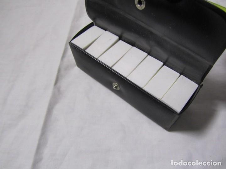 Juegos de mesa: Juego de dominó de viaje (pequeño), completo - Foto 4 - 155995074