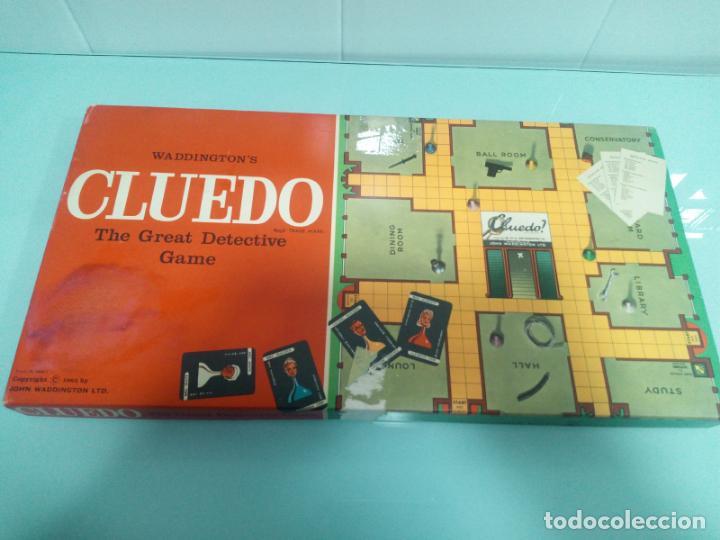 CLUEDO - INGLÉS - AÑOS 70 (Juguetes - Juegos - Juegos de Mesa)