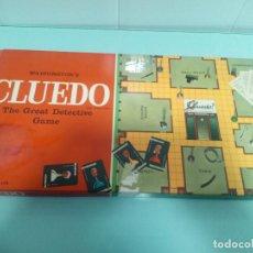Juegos de mesa: CLUEDO - INGLÉS - AÑOS 70. Lote 156000258