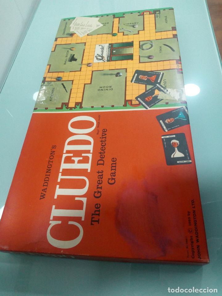 Juegos de mesa: CLUEDO - INGLÉS - AÑOS 70 - Foto 2 - 156000258