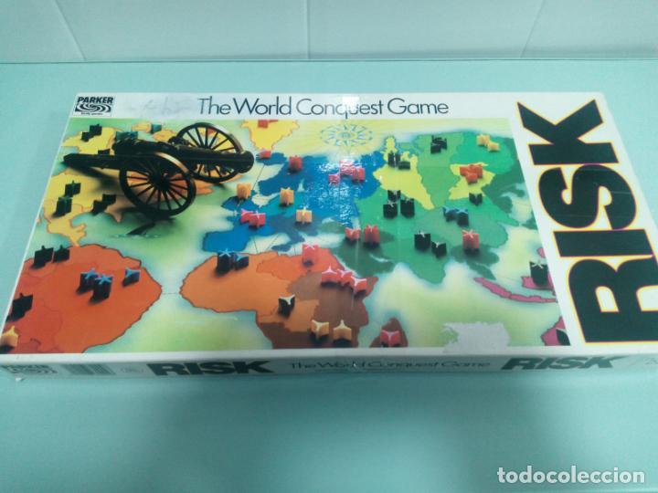 RISK - INGLÉS - AÑOS 70-80 (Juguetes - Juegos - Juegos de Mesa)