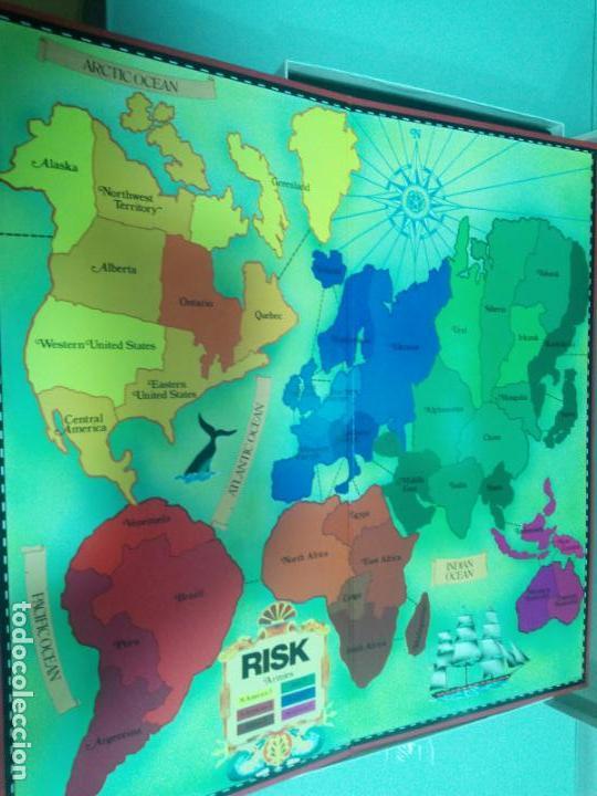 Juegos de mesa: RISK - INGLÉS - AÑOS 70-80 - Foto 6 - 156000434