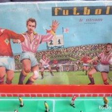 Juegos de mesa: ANTIGUO FUTBOLIN DE SOBREMESA CON CAJA - FUNCIONA CON RESORTES. Lote 156279318