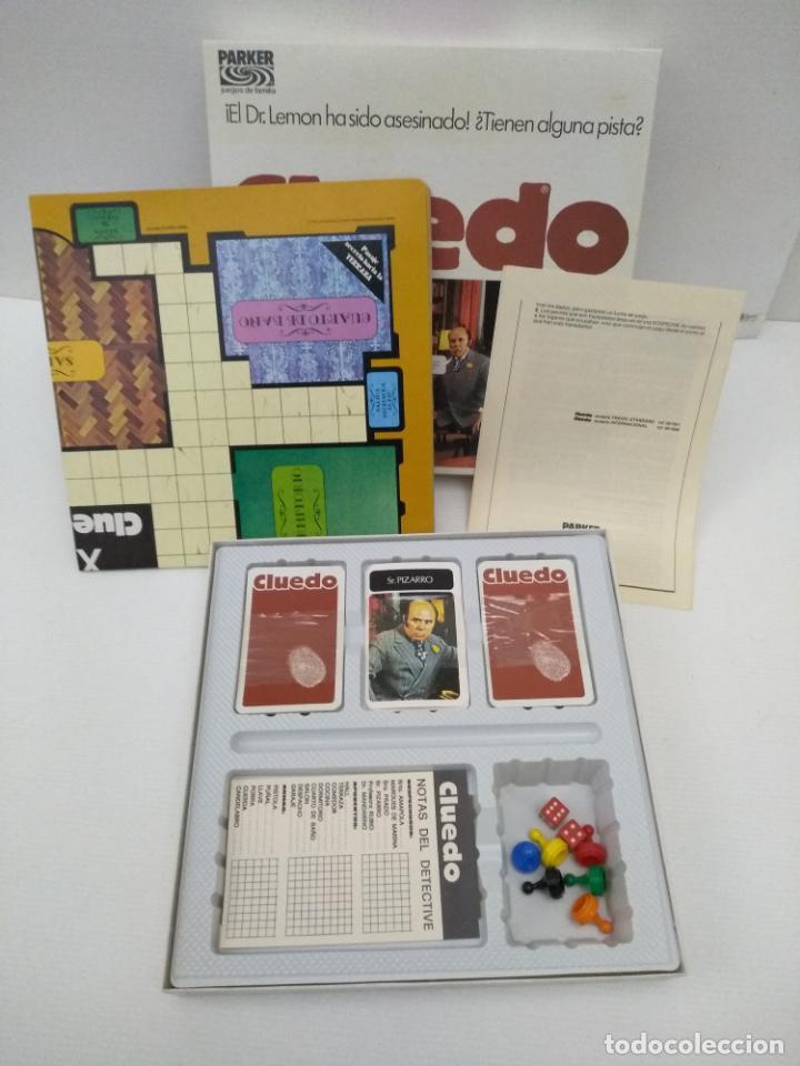 Juegos de mesa: Cluedo de Parker sin uso - Foto 3 - 155990726