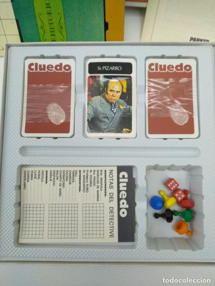 Juegos de mesa: Cluedo de Parker sin uso - Foto 4 - 155990726