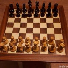 Juegos de mesa: JUEGO DE AJEDREZ COMPLETO EN MADERA. STAUNTON 5. Lote 156447172