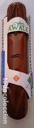 ANTIGUO JUEGO AFRICANO - AWALE - COLLECTION LEUX DU MONDE - Nº 1 - NUEVO SIN USO - (Juguetes - Juegos - Juegos de Mesa)