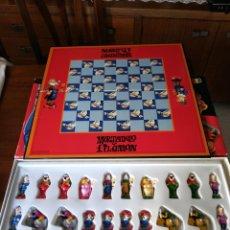 Juegos de mesa: AJEDREZ CHESS GAME - MORTADELO Y FILEMON ( COMPLETO). Lote 156475309