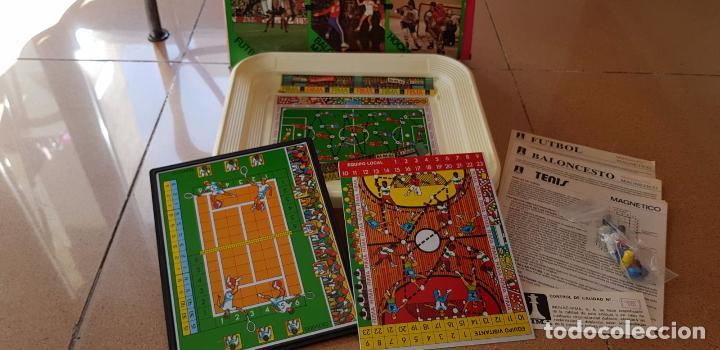Juegos de mesa: 3ANTIGUOS JUEGOS DEPORTIVOS MAGNETICOS DE RIMA AÑOS 70 - Foto 2 - 156489322
