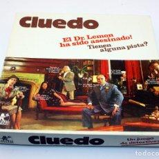 Juegos de mesa: ANTIGUO JUEGO CLUEDO DE BORRAS - COMPLETO Y CON INSTRUCCIONES - CAJA PEQUEÑA - MUY BUEN ESTADO. Lote 156520086