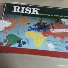 Juegos de mesa: JUEGO DE MESA ANTIGUO RISK,GRAN JUEGO DE ESTRATEGIA MUNDIAL,BORRAS,AÑOS 80. Lote 156773538