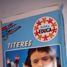 Juegos de mesa: JUEGO DE EDUCA TITERES- MARIONETAS. Lote 157798286