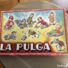 Juegos de mesa: JUEGO DE MESA ANTIGUO - LA PULGA DE ENRIQUE BORRÁS (MATARÓ) - COMPLETO. Lote 157840586