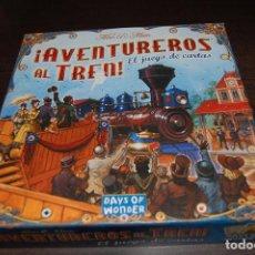 Giochi da tavolo: JUEGO DE DE CARTAS AVENTUREROS AL TREN. COMPLETO. CASTELLANO. Lote 158330142