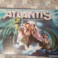 Juegos de mesa: ESCAPE DE ATLANTIS SCHMIDT SPIELE CON FIGURAS FROM 80 VINTAGE RETRO. Lote 158492550
