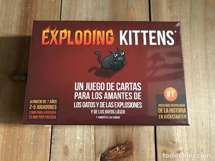 JUEGO DE CARTAS - EXPLODING KITTENS - ASMODEE - PRECINTADO (Juguetes - Juegos - Juegos de Mesa)