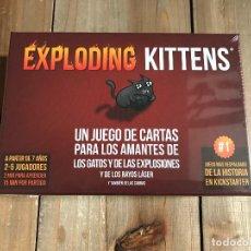 Juegos de mesa: JUEGO DE CARTAS - EXPLODING KITTENS - ASMODEE - PRECINTADO. Lote 158499094